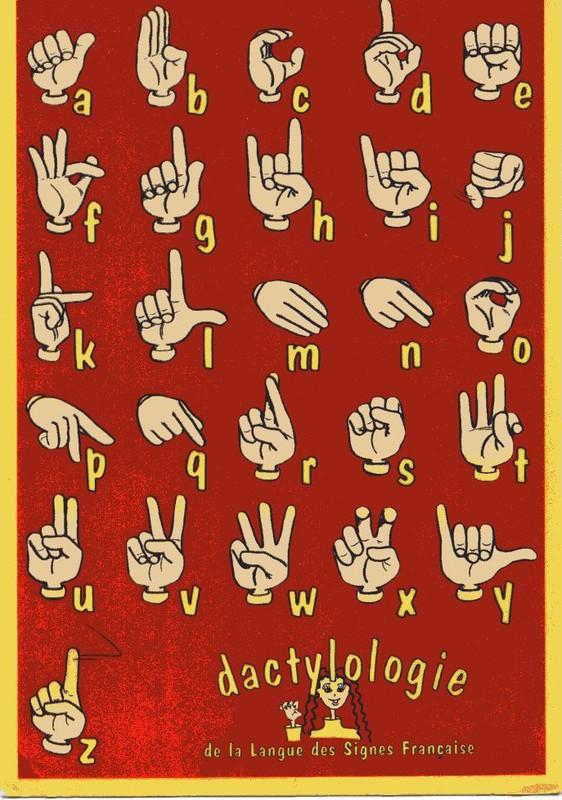 Turbo La dactylologie – des signes et des mots UA84
