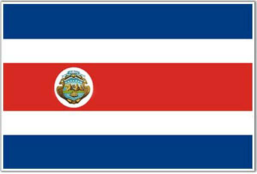 drapeau-costa-rica